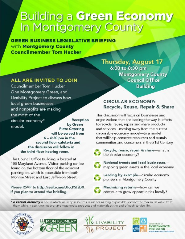 Building a Green Montgomery County: Green Business ...