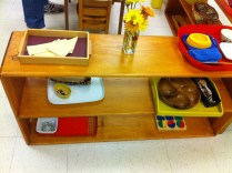 Various materials and activities in Primary class