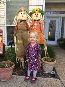 Mia and the scarecrows