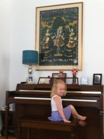 Loving the piano