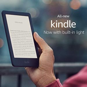 Kindle (10th Gen), 6″ Display with Built-in Light,WiFi (Black)