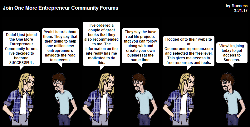 Join One More Entrepreneur Forums and Community