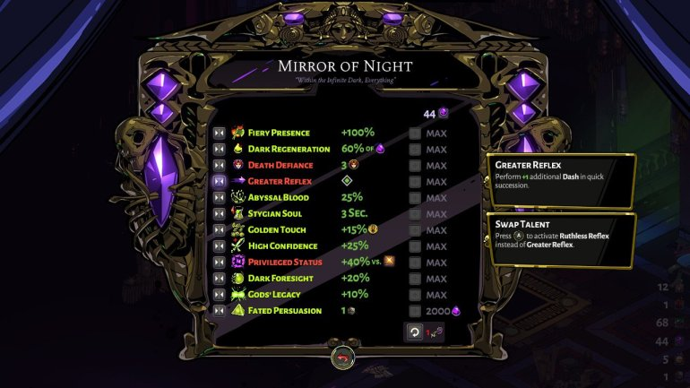 hades mirror of night
