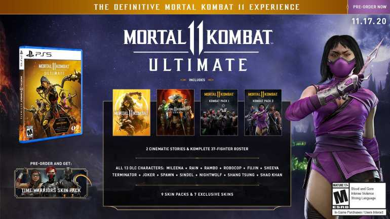mortal kombat 11 ultimate contents