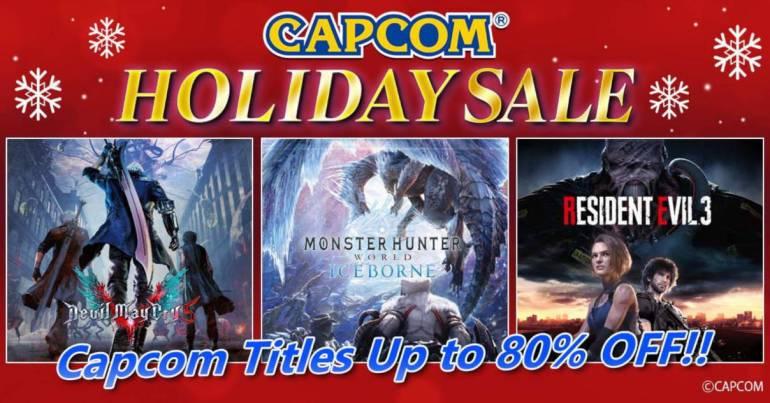 Capcom holiday sale