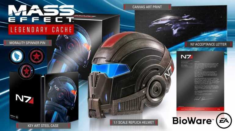 mass effect legendary edition collector's edition