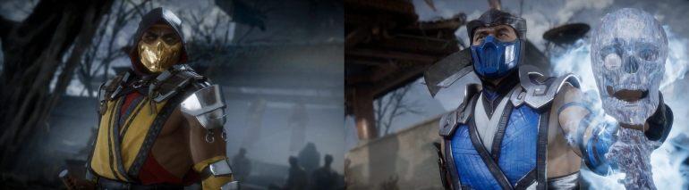 mortal kombat game and movie comparison 5