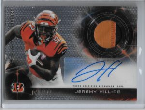 Jeremy Hill Auto Patch Refractor