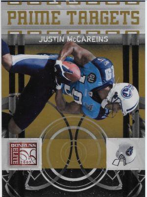 2009 Elite McCareins Targets to 899 Front