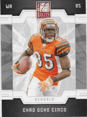 2009 Elite Ocho Cinco Front