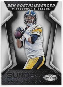 2016 Certified Ben Roethlisberger Sunday