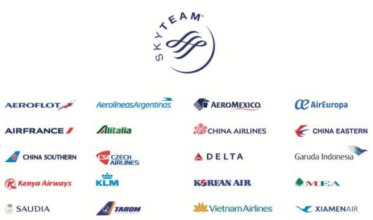 compagnie aeree Sky Team