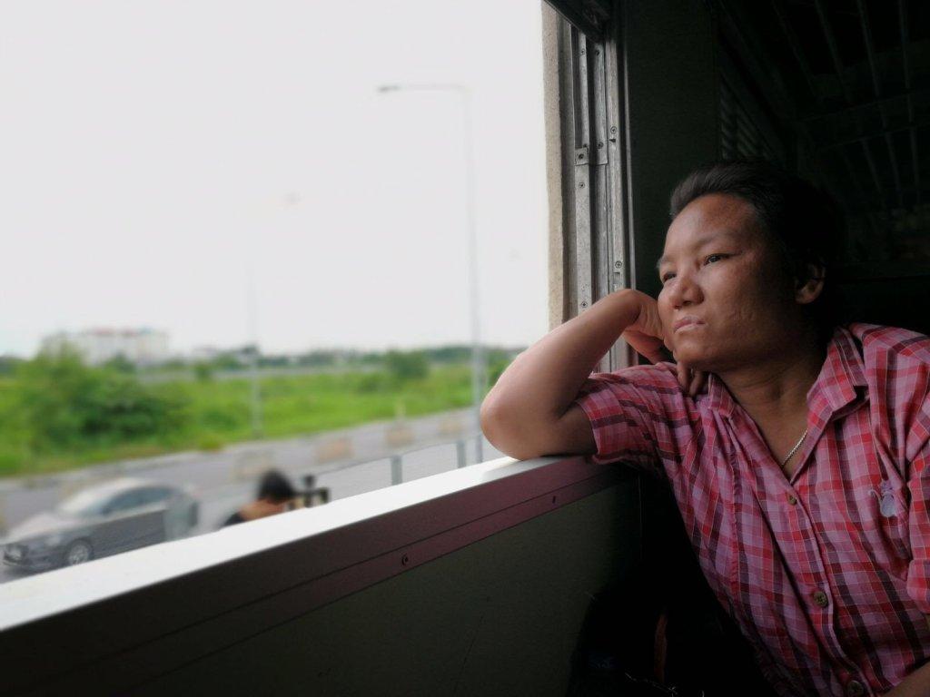 Bangkok ad Ayutthaya - Treno