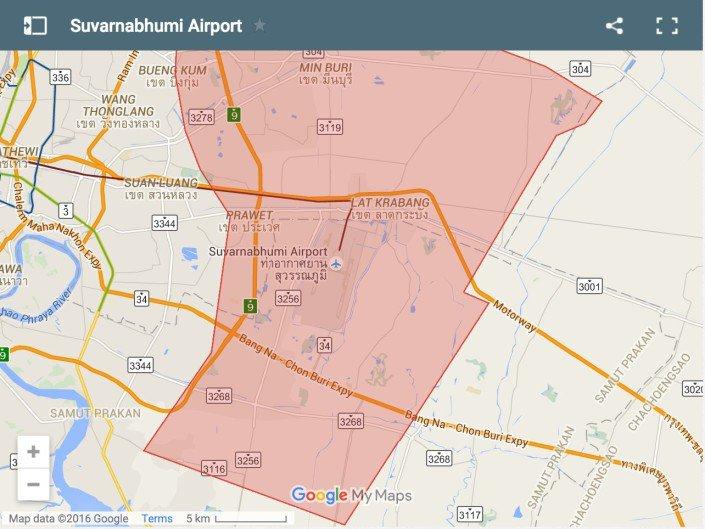 dove dormire a Bangkok. Suvarnabhumi Airport