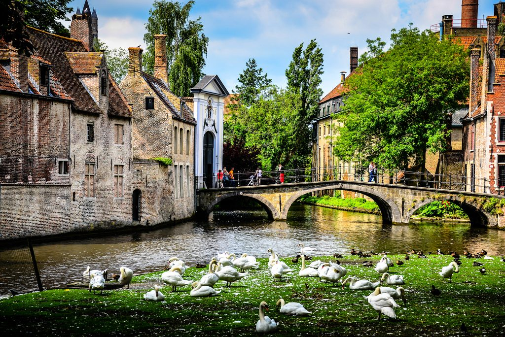 cosa vedere a bruges minnewater park