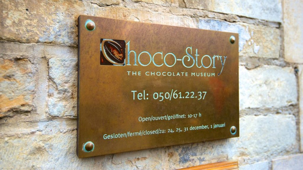 cosa vedere a bruges choco story