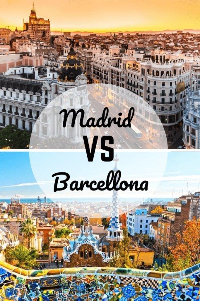 Madrid o Barcellona