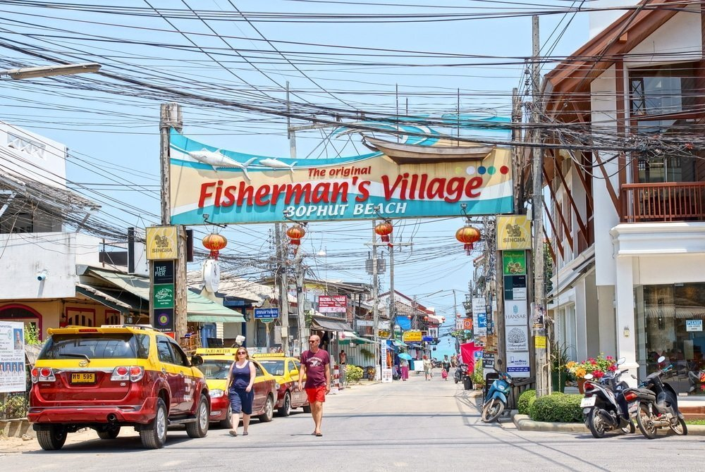 villaggio dei pescatori Koh Samui