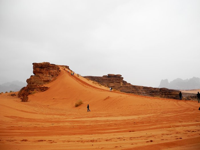Deserto del Wadi Rum Giordania