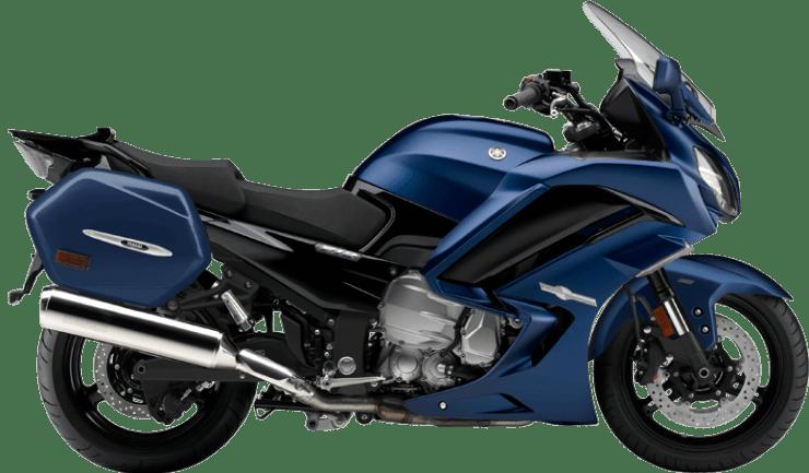 Sport tourer motorcycle