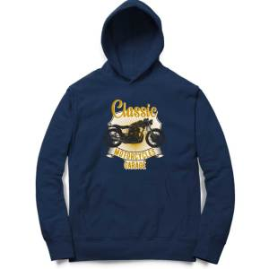 classic motorcycle garage biker motorcycle sweatshirt hoodie for men and women