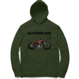 classic american old school chopper biker motorcycle sweatshirt hoodie for men and women
