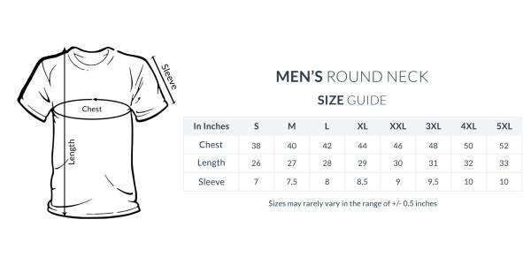 Biker motorcycle t shirt size guide