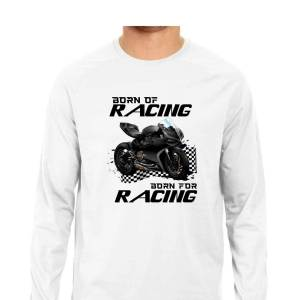 ducati racing biker motorcycle full sleeve shirt for men and women