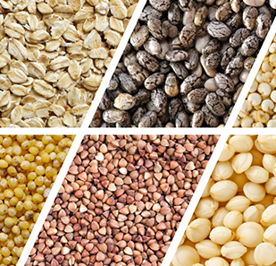 Grains, grains powder, grains & seeds, super grains