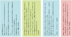 ご感想2014-6:第5回:エニアグラムを知ろう実践会