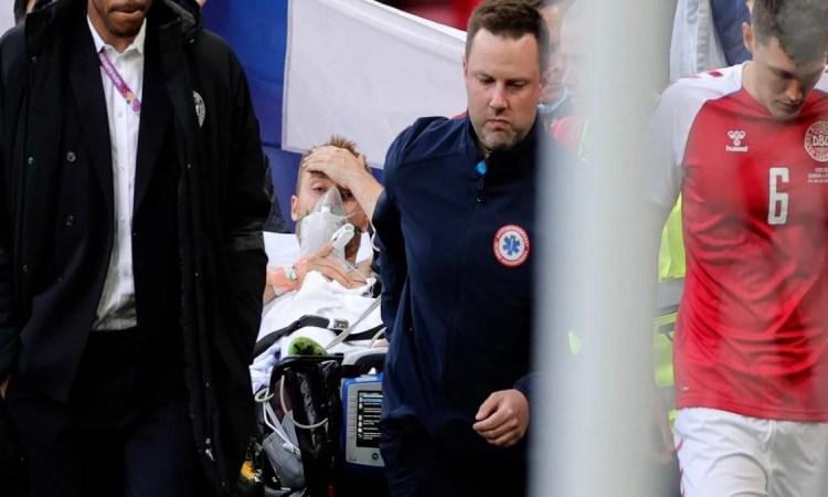 Έρικσεν – UEFA: Στο νοσοκομείο και σε σταθερή κατάσταση η υγεία του ποδοσφαιριστή – Ανέκτησε τις αισθήσεις του