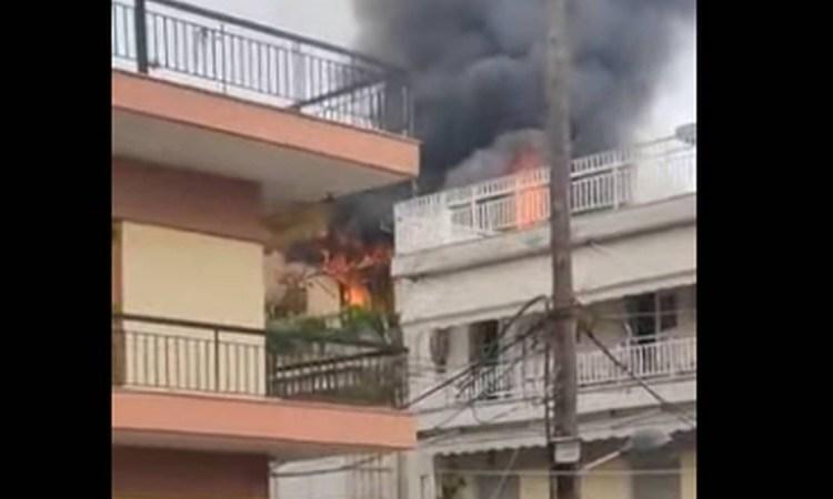 Ασύλληπτη τραγωδία στη Θεσσαλονίκη: Άνδρας έβαλε φωτιά στο σπίτι του και αυτοκτόνησε!