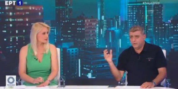 Σε νευρική κρίση στην ΕΡΤ μετά το φιάσκο Πετρούνια: Παρουσιάστρια τα ακούει on air απ' το κοντρόλ