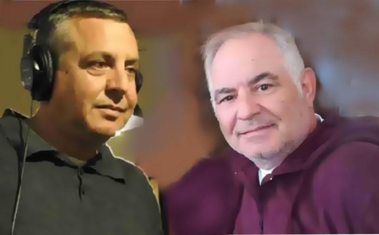Ηλίας Μητρόπουλος και Γιώργος Λουκάκης σ ένα παράθυρο