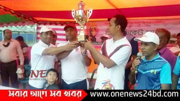 পাকুন্দিয়া শেখমুজিবুর রহমানের জন্ম শতবার্ষিকী উপলক্ষে প্রীতি ক্রিকেট ম্যাচ অনুষ্ঠিত
