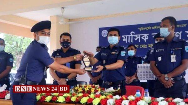 কিশোরগঞ্জ জেলার শ্রেষ্ঠ ইনস্পেক্টর (তদন্ত) নাহিদ হাসান সুমন