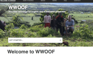 help save the world, woofing.org, learn and share, onenomadwoman