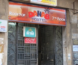 The Dahab Hostel in Cairo Egypt