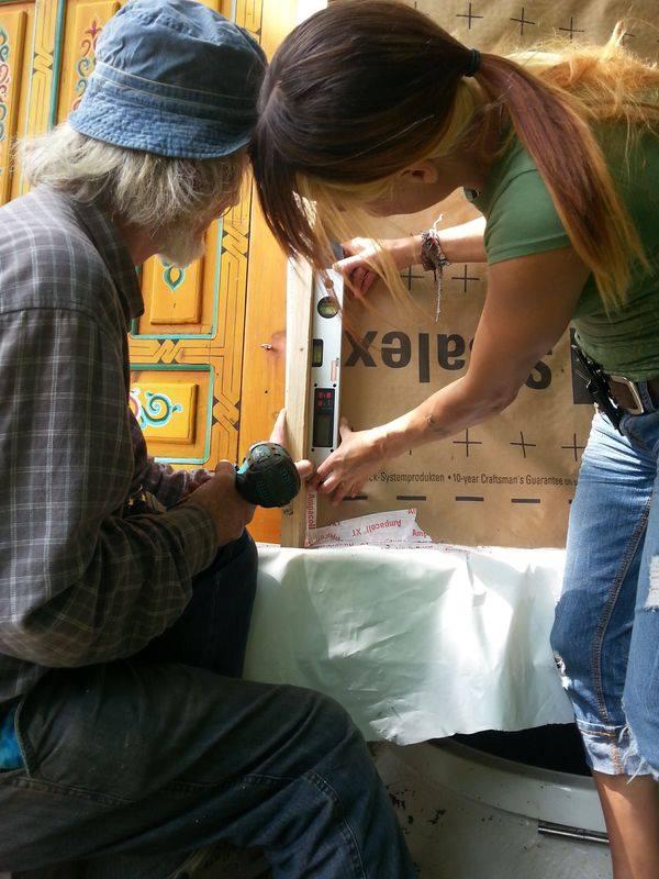 yurt building, backpacking, RTW, wanderlust, alternative structures, building, DIY