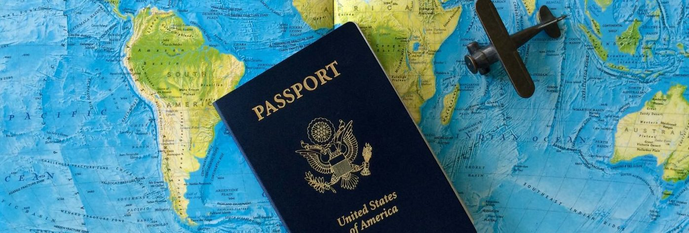 passport, world map, travel,