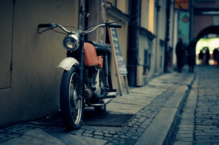travel, motorbike, motorcycle, minimalism,