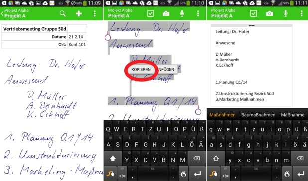 Android_Handschrift_umwandeln