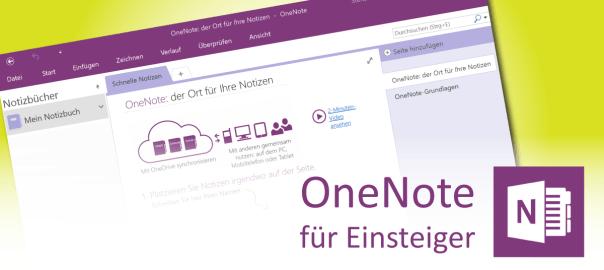 Neues Notizbuch in OneNote erstellen - Teaserbild