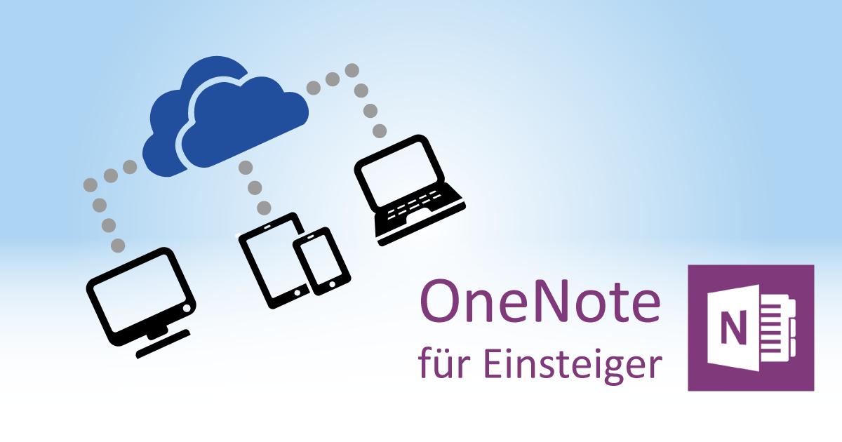 OneNote-Notizbücher speichern: Festplatte oder Cloud?