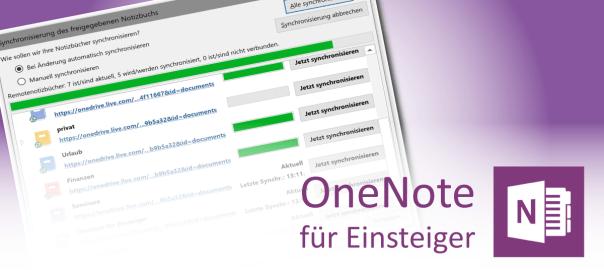 OneNote-Synchronisierung für Einsteiger