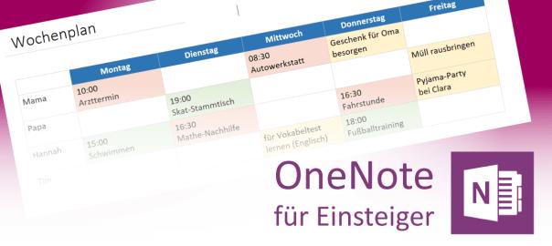 Tabellen in OneNote - Teaserbild