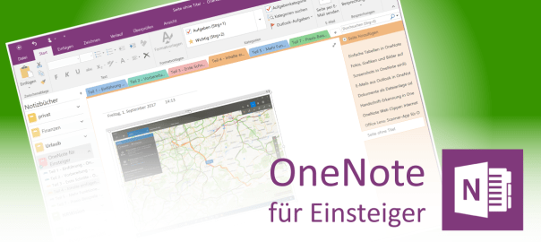 Screenshots in OneNote speichern - Teaser