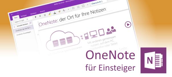 OneNote starten und einrichten - Teaser