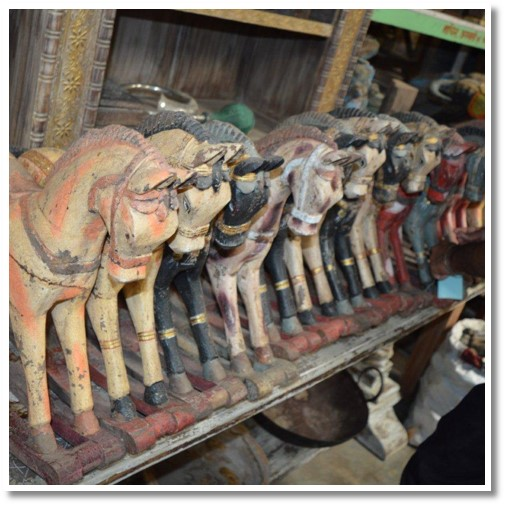 Hand Carved Horses (036) Image