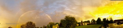 one of a kind photos N4021, Full rainbow NiagaraFalls, NY, USA, 7845x1811,dimension
